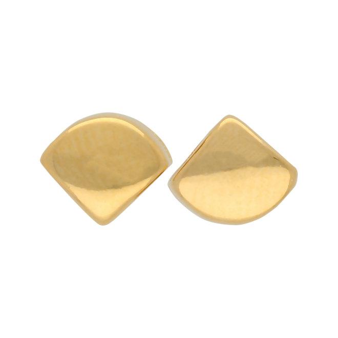 Kardiani-Silky Side Bead - Gold Plate