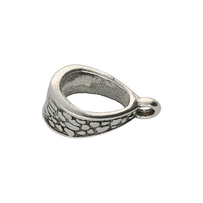 Anhängerschlaufe tibetischen Stil - Antik Silber