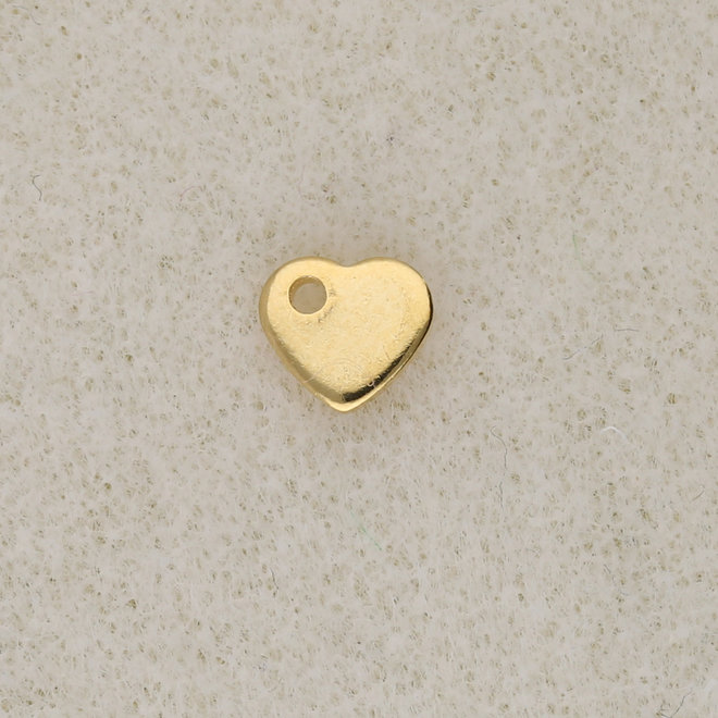 Edelstahl Charm-Anhänger Herz