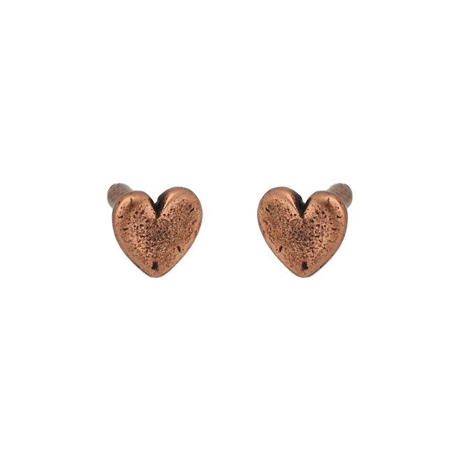 Nieten Herzförmig – Kupfer antik
