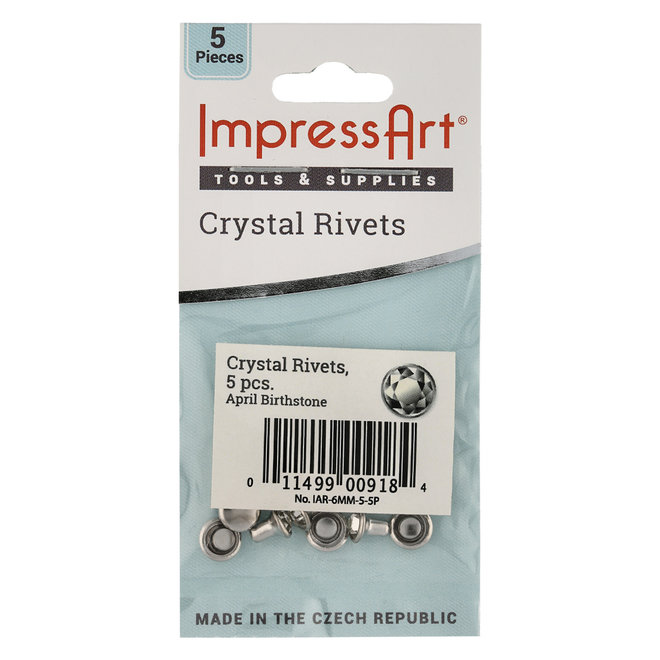 ImpressArt Czech Crystal Nieten, Kristallfarbe