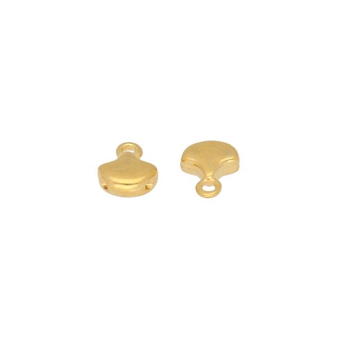 Cymbal™ Karavos-Ginko Bead Ending - 24K Gold Plate