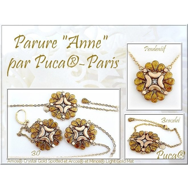Amos® par Puca® - Opaque Ivory Spotted