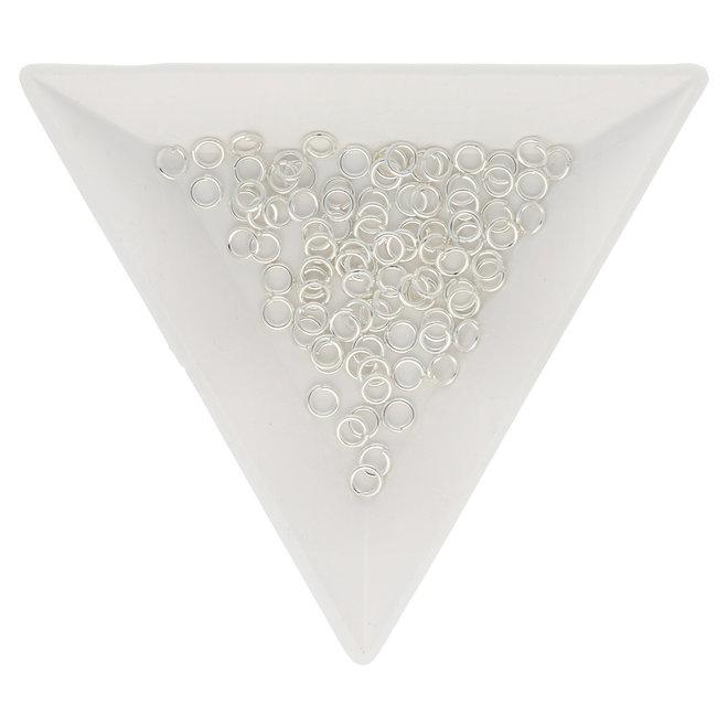 Biegeringe 4 mm – Silberfarbig