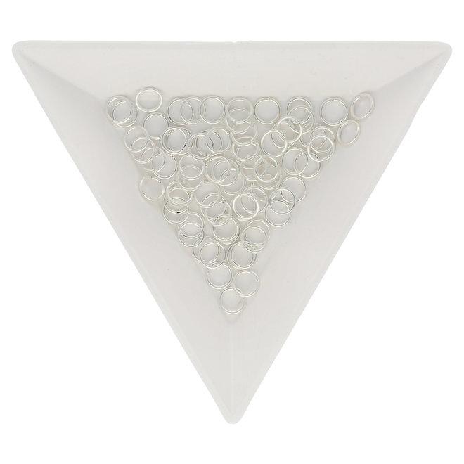 Biegeringe 5 mm – Silberfarbig