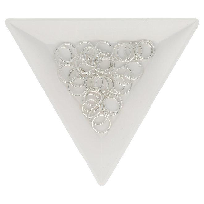 Biegeringe 8 mm – Silberfarbig