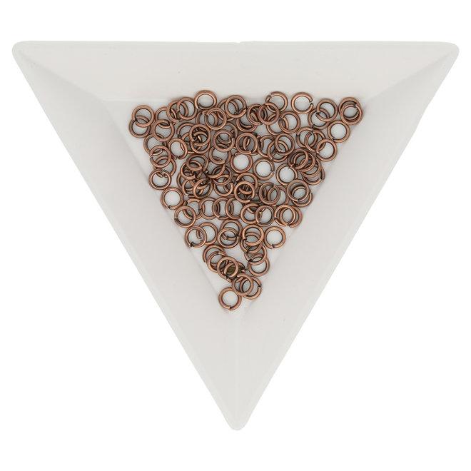 Biegeringe 4 mm – Kupfer