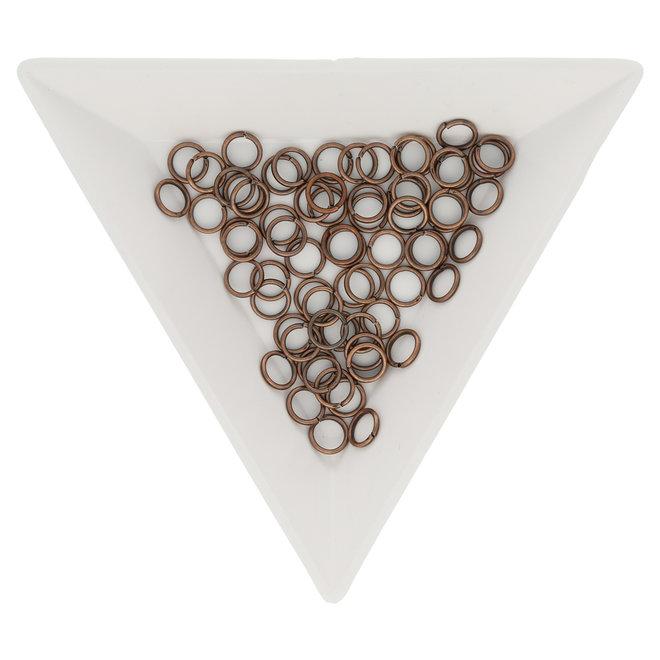 Biegeringe 5 mm – Kupfer