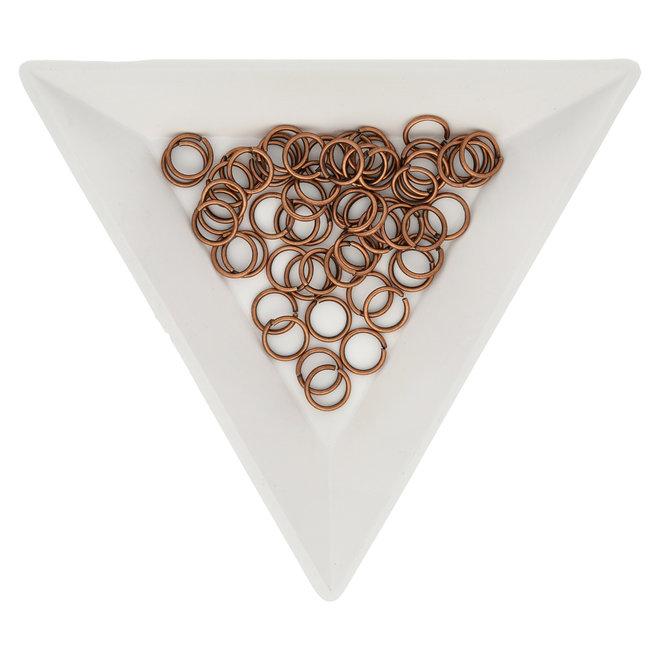 Biegeringe 6 mm – Kupfer