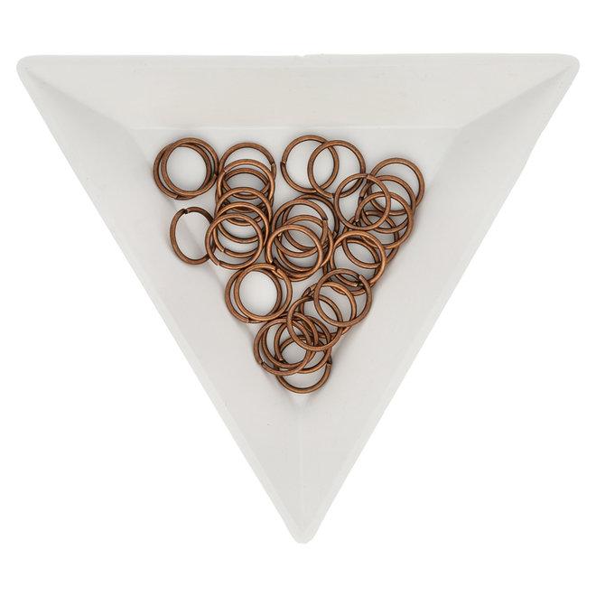 Biegeringe 8 mm – Kupfer