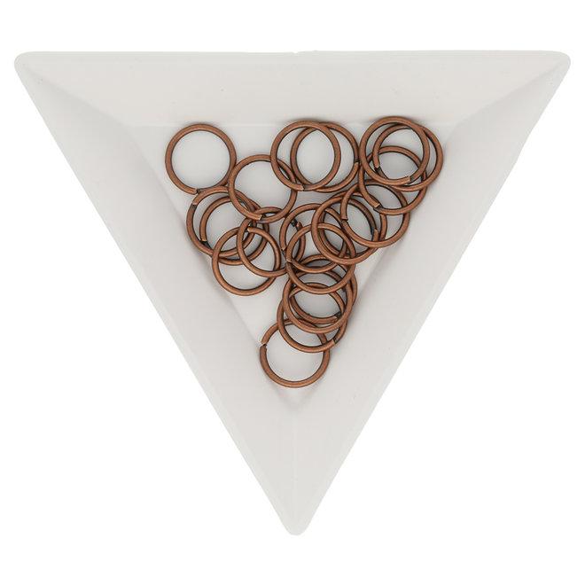 Biegeringe 10 mm – Kupfer
