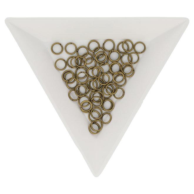Biegeringe 5 mm – Messing