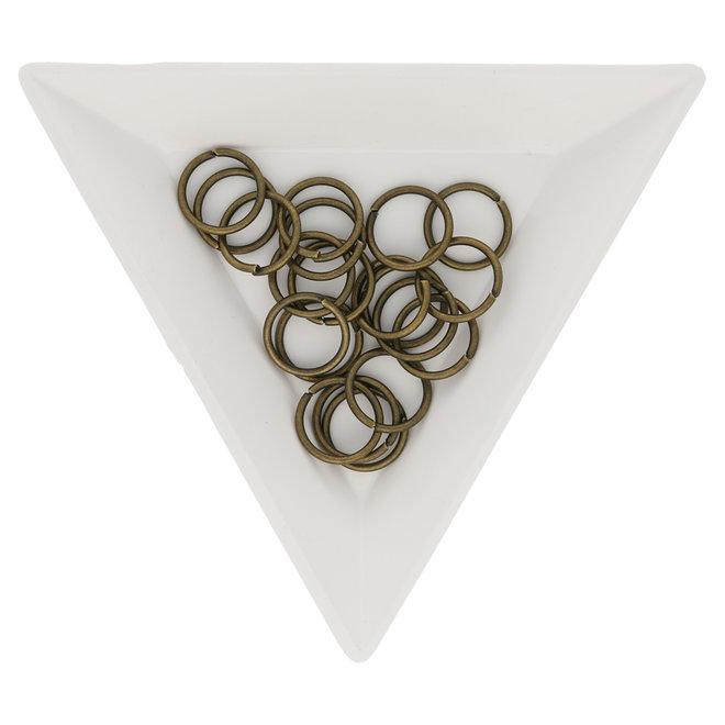 Biegeringe 10 mm – Messing