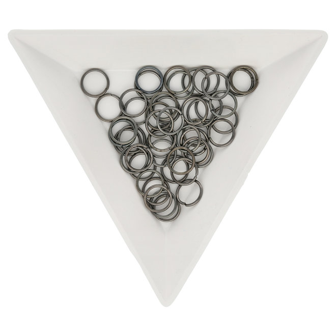 Biegeringe 7 mm – Farbe Gunmetal