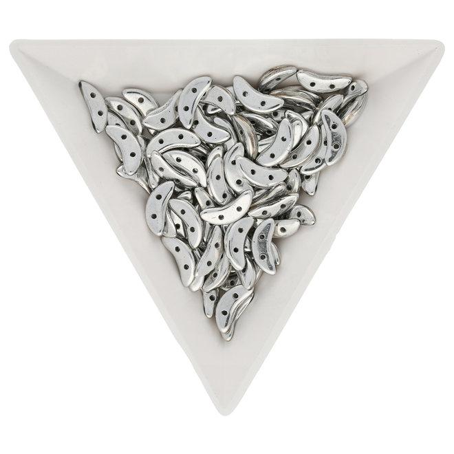 Crescent 3 x 10 mm - Silver