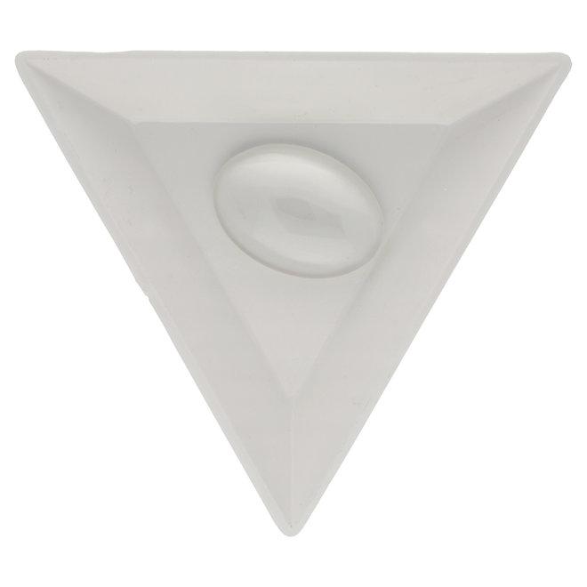 Glas Cabochon, klar 25 x 18 mm