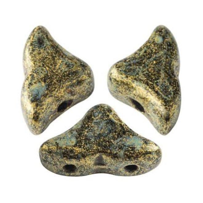 Hélios® par Puca® - Metallic Mat Old Gold Spotted