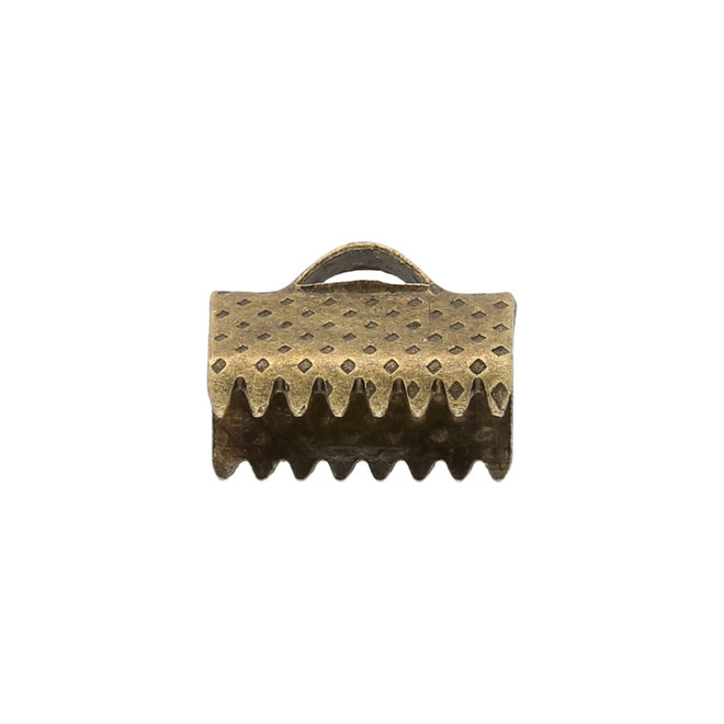 Bandklemme 10 mm, Farbe Bronze