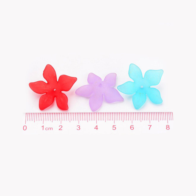 Blume - Acrylperle