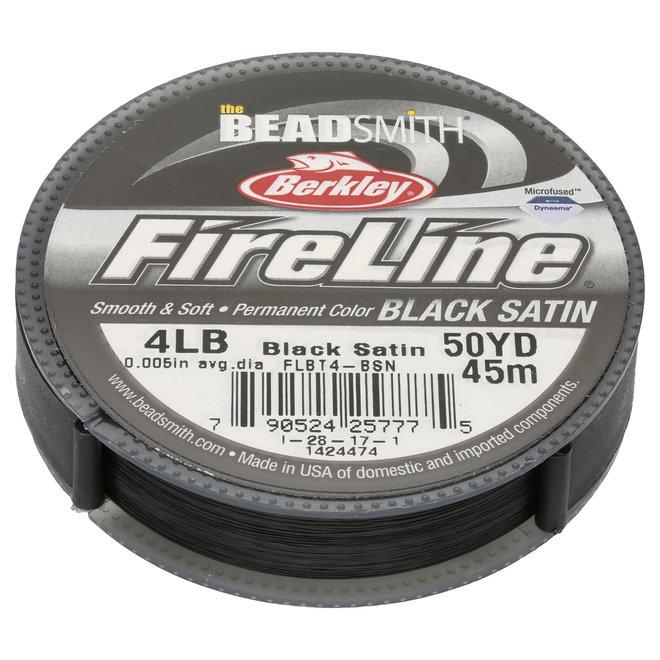 Filo per tessitura Fireline 4 lb - Black Satin