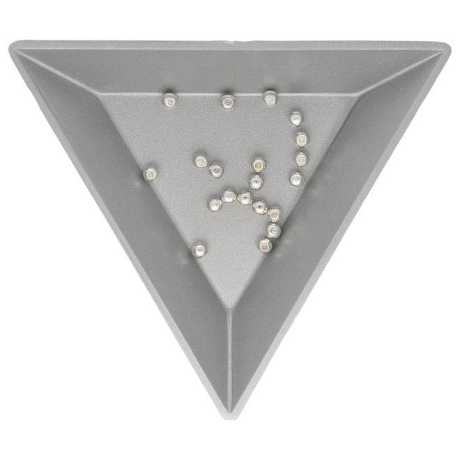 Abschluss-Perle für Memory Wire - 3 mm - Silber
