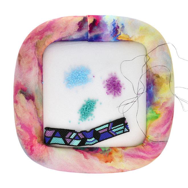 Bead On It Board – 15 x 15 cm - Ablaze