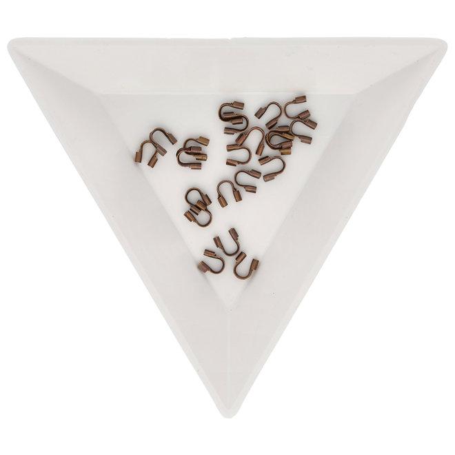 Drahtschutz (Wire guardian) aus Messing – Farbe Kupfer