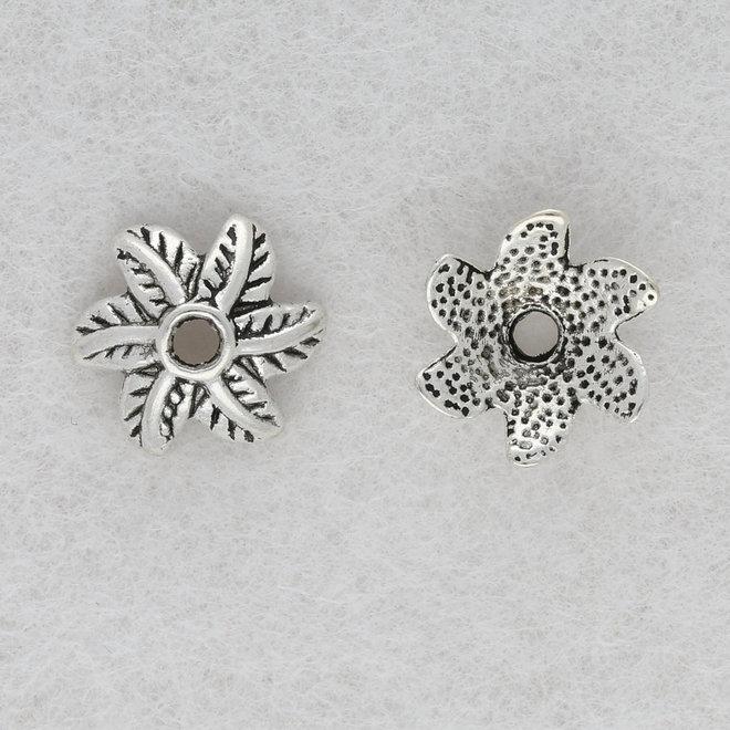 Coppette copri-perline a forma di fiore – 11 mm