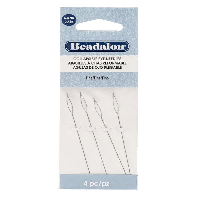 Beadalon Collapsible Eye Needles – Fine