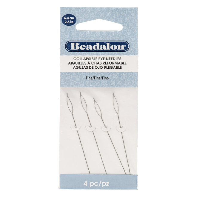 Beadalon Collapsible Eye Needles – Fine
