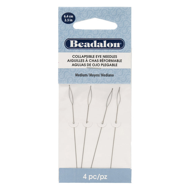 Beadalon Collapsible Eye Needles – Medium