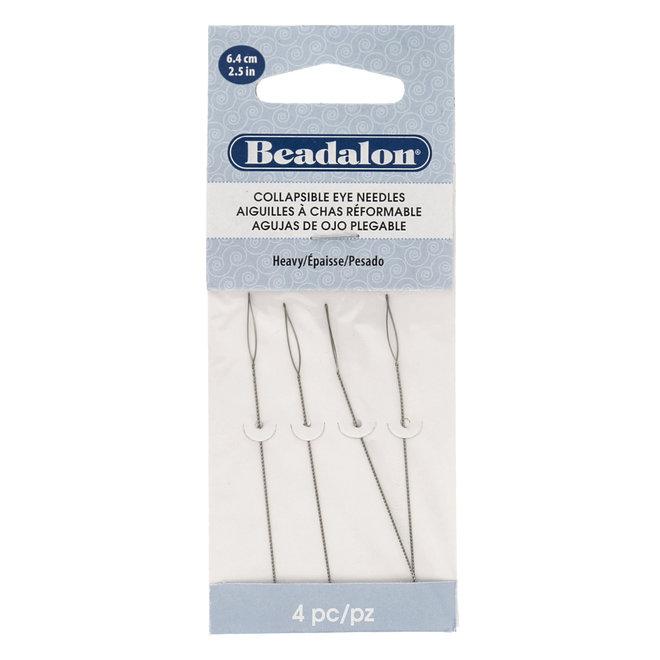 Beadalon Collapsible Eye Needles – Heavy