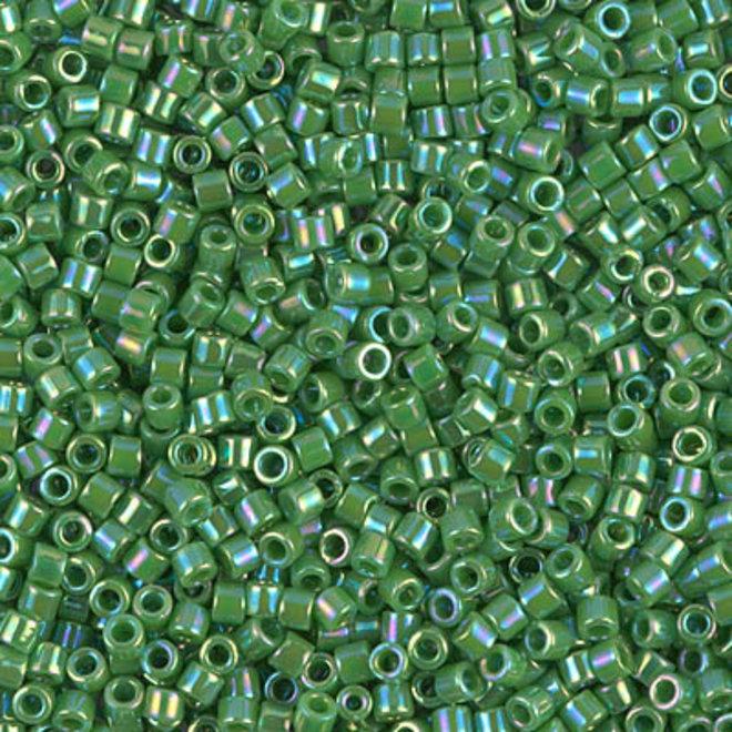 Delica 10/0 - DBM0163 - Opaque Green AB