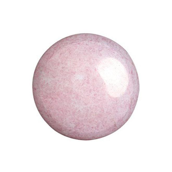 Cabochon par Puca® - 18 mm - Opaque Light Rose Ceramic Look