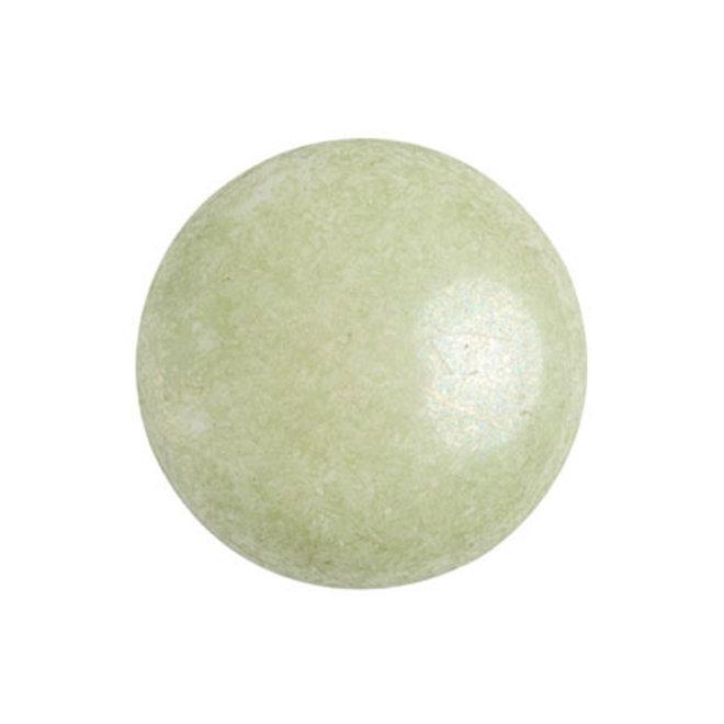 Cabochon par Puca® - 18 mm - Opaque Light Green Ceramic Look