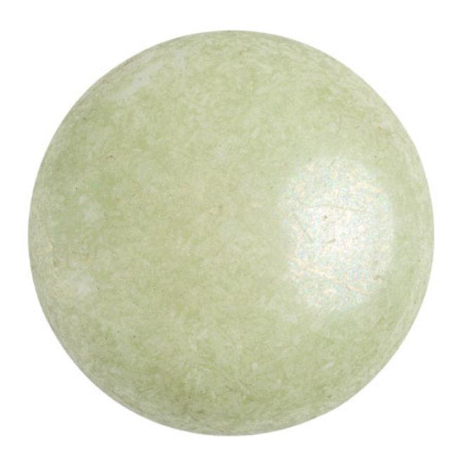 Cabochon par Puca® - 25 mm - Opaque Light Green Ceramic Look