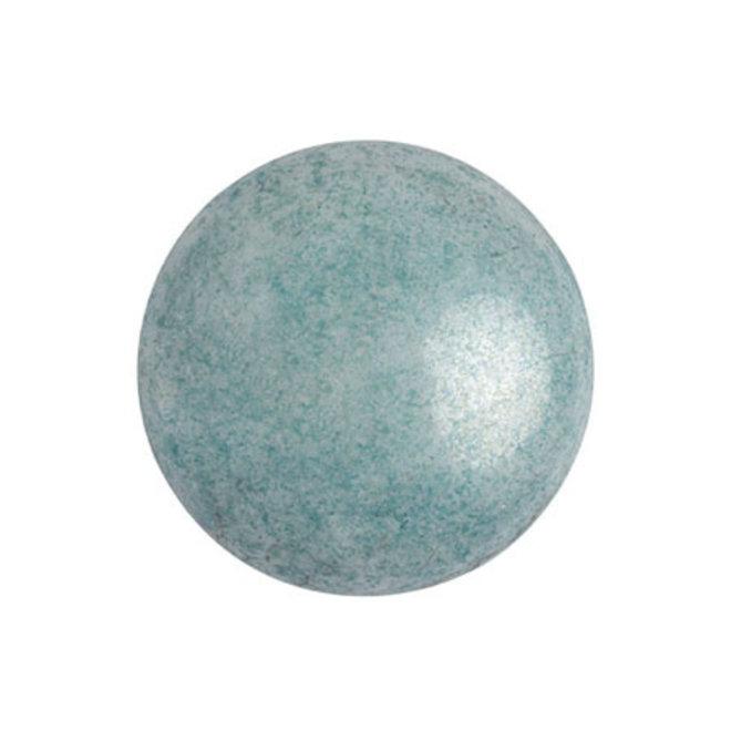 Cabochon par Puca® - 18 mm - Opaque Blue Ceramic Look