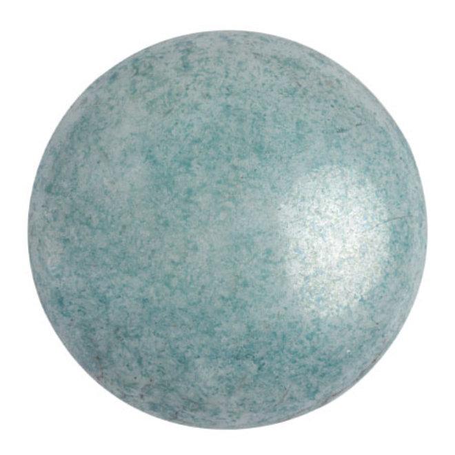 Cabochon par Puca® - 25 mm - Opaque Blue Ceramic Look