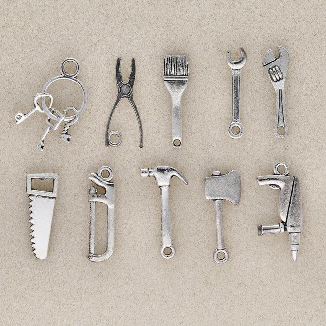 """Charm Set """"Tools I"""" (10 Stk.)"""