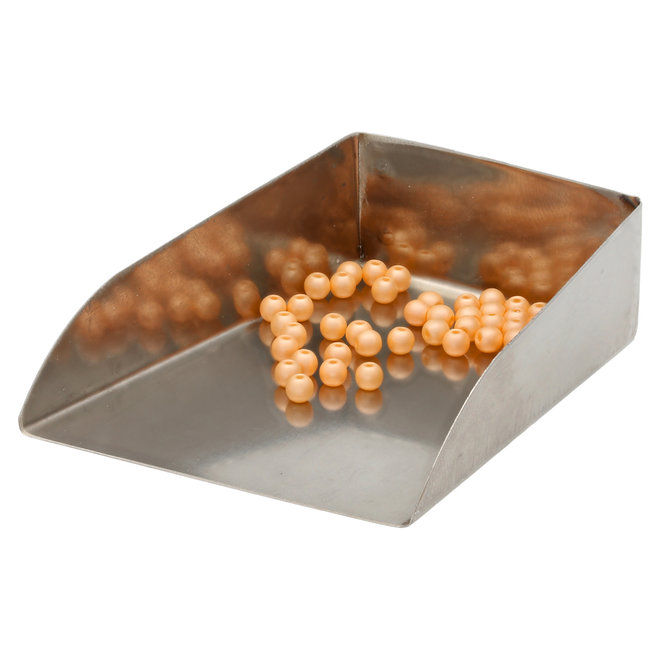 Perle tonde in vetro 3 mm - Powdery Pastel Orange