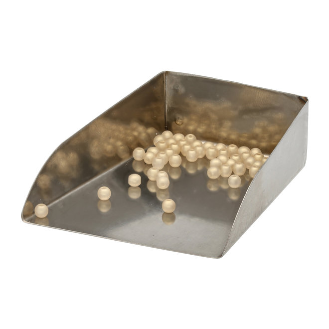 Perle tonde in vetro 3 mm - Powdery Light Gold