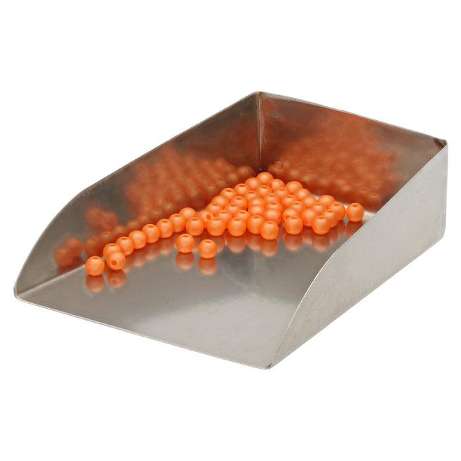 Perle tonde in vetro 3 mm - Powdery Orange