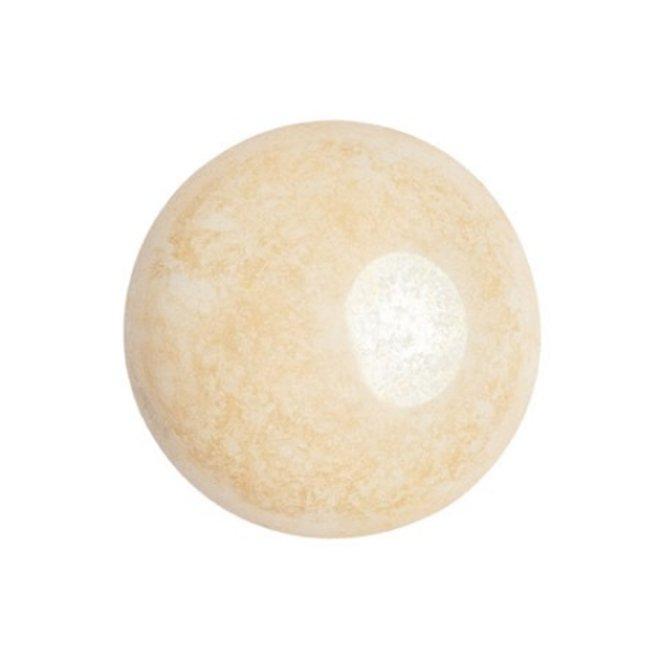 Cabochon par Puca® - 18 mm - Opaque Beige Ceramic Look