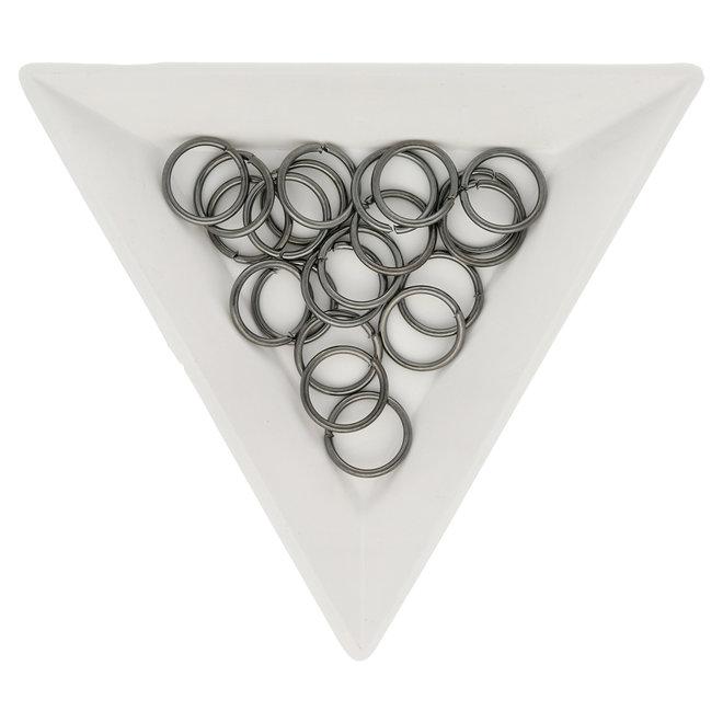Biegeringe 10 mm – Farbe Gunmetal