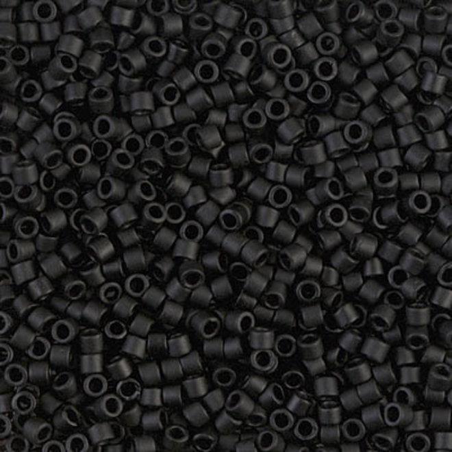 Delica 10/0 - DBM0310 - Matte black