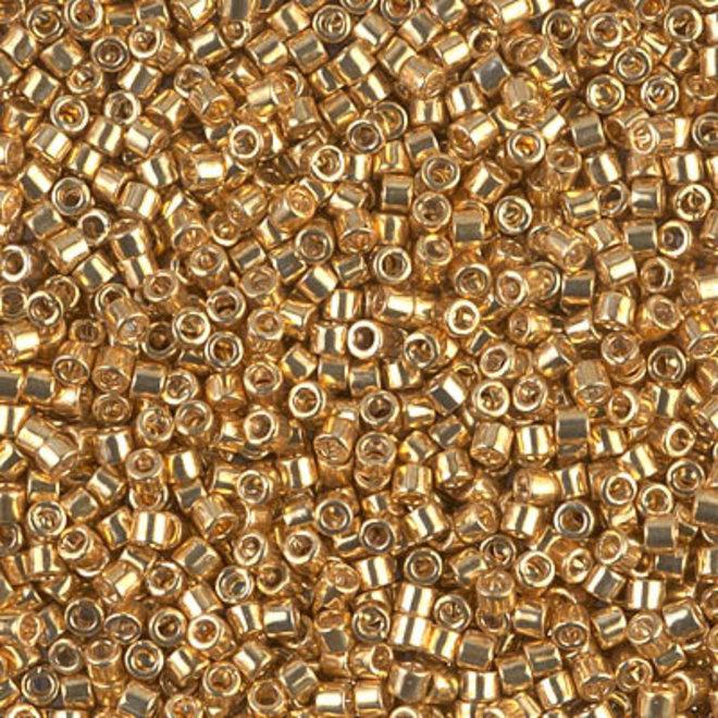 Delica 10/0 - DBM0410 - Galvanized Yellow Gold Dyed