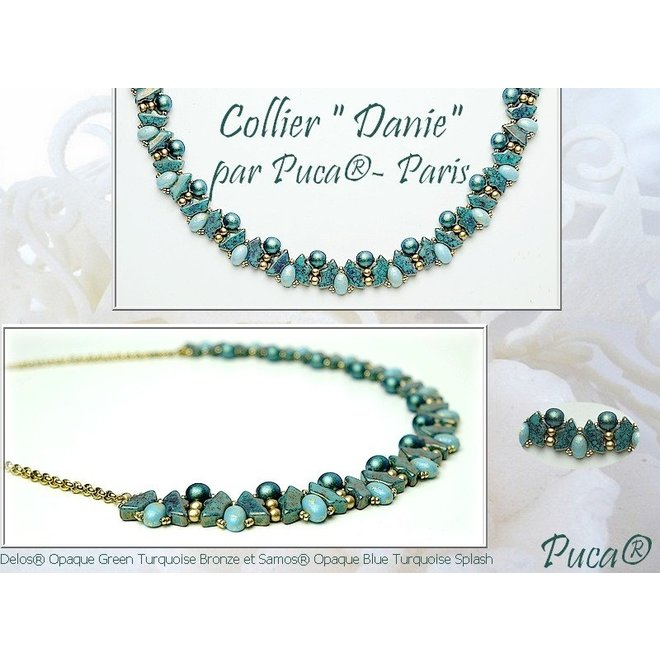 Delos® Par Puca® - Opaque Light Green Ceramic Look