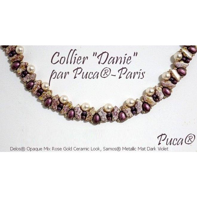 Delos® Par Puca® - Opaque Light Rose Ceramic Look