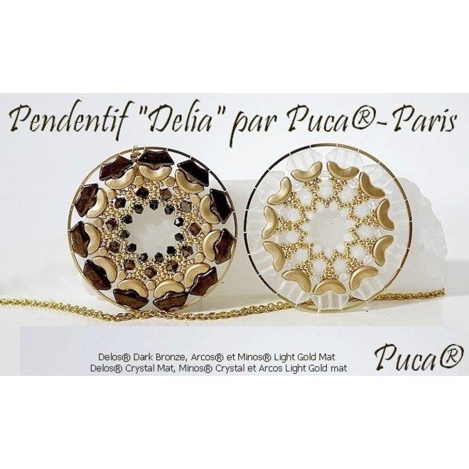 Delos® Par Puca® - Opaque White Ceramic Look