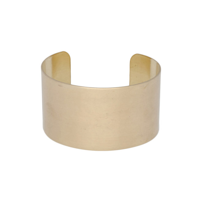 Armband aus massivem Messing, 30,8 mm breit